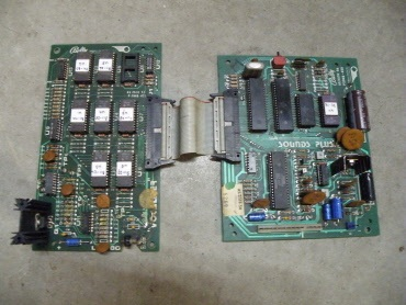 Bally AS2518-56 soundsplus board and AS2518-57 vocalizer set